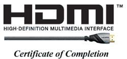 HDMI ceryfikat