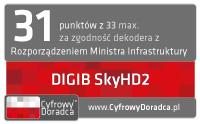 Dekoder STB DIGIB SkyHD2