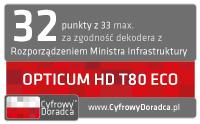 Dekoder STB OPTICUM HD T80ECO
