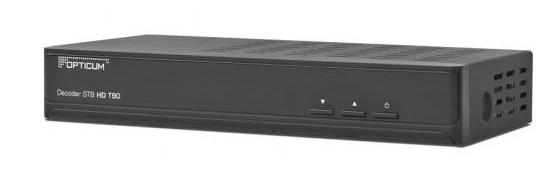 Dekoder STB Opticum HD T90. Źródło: http://www.globo.com.pl/