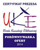 Cyfrowy Doradca otrzymał Certyfikat UKE na porównywarkę ofert telewizyjnych 2014