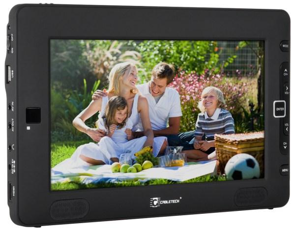 Cabletech URZ0196 - przenośny telewizor do odbioru DVB-T