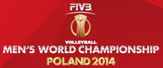 Mistrzostw Świata w Piłce Siatkowej Mężczyzn 2014 - logo