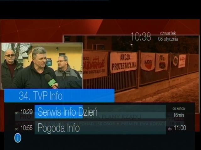 Przy wyłączonym deskryptorze LCN na dekoderze Strong SRT 8113 jako pierwszy na liście wyświetli się Polsat.