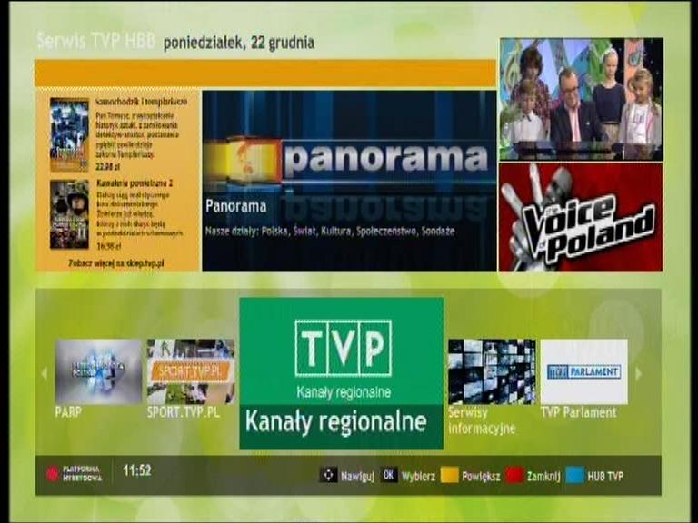 Hbb TV na jednym z polskich kanałów TVP