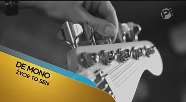 Nowe logo Polonii 1 po raz pierwszy pojawiło się przy teledysku zespołu De Mono.