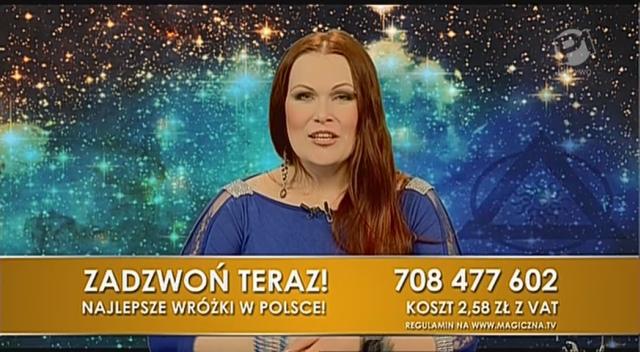 Joanna Gulweig jako pierwsza poprowadziła program MagicznaTV.pl.