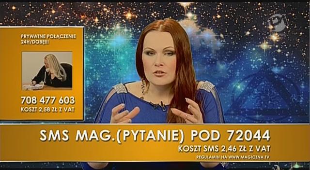 Joanna Gulweig w programie MagicznaTV.pl.