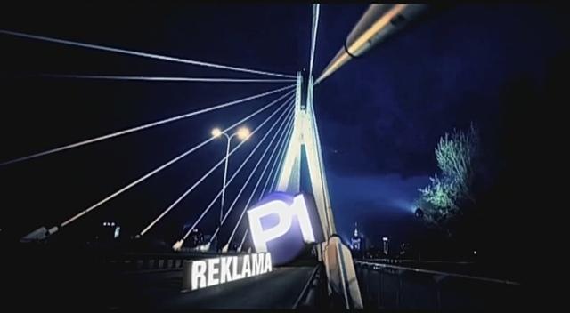 Nowa szata graficzna zapowiedzi reklamy na kanale Polonia 1.