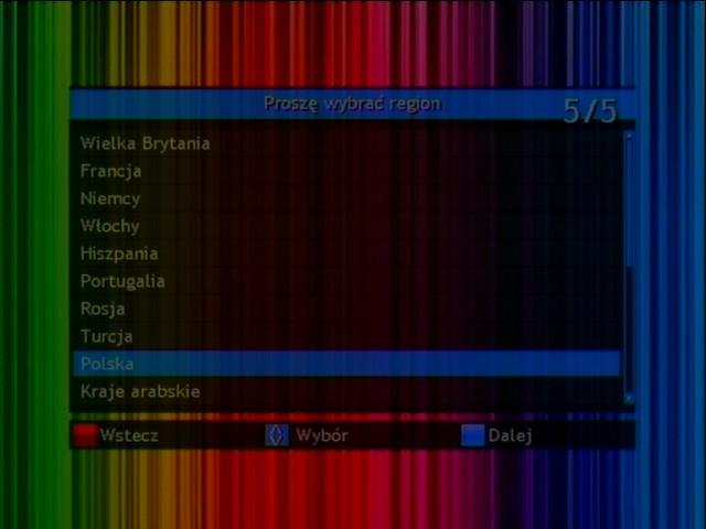 Automatyczne wyszukiwanie kanałów w dekoderze Opticum HD FT24p
