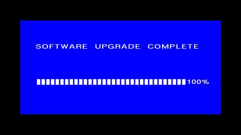 Pomyślne zakończenie aktualizacji oprogramowania w dekoderze Manta DVBT06