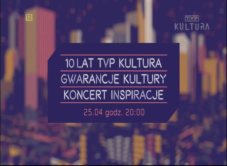 10 lat TVP Kultura - zaproszenie do obejrzenia jubileuszowej gali. Fot. Cyfrowy Doradca