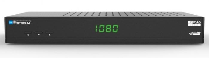 Opticum Blue HD XS65 Combo: specyfikacja techniczna
