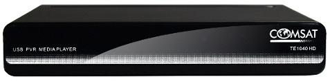Comsat TE1040 HD - dekoder DVB-T