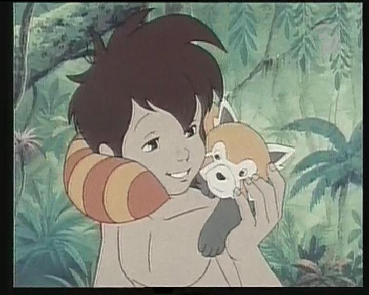 Księga Dżungli - anime Polonia1