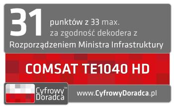 Comsat TE1040 HD